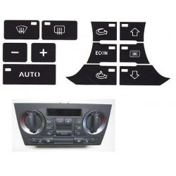 Kit Autocolante em Vinil p/ Reparação Climatronic Audi A3 8P (2004-2008) [KITCA]
