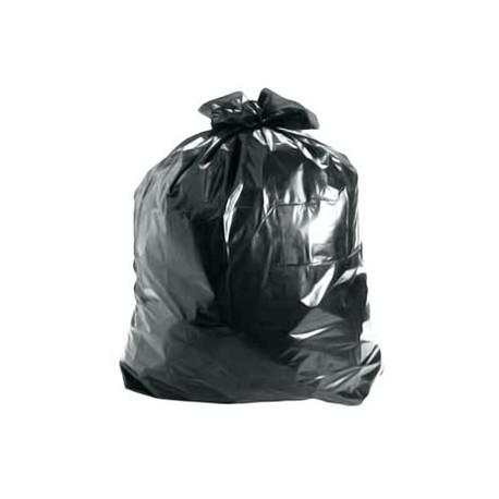 Sacos Lixo Plast 100Lts Preto 25my (70x105cm) - 10un