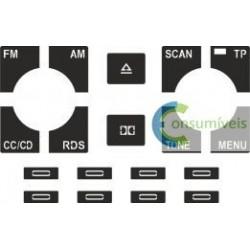 Kit Restaurar botões Auto-Rádio ( Chorus )