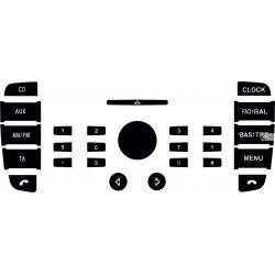 Kit Restaurar Botões Rádio Ford Mondeo