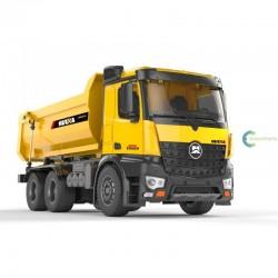 Camião basculante de metal completo Huina 1582 1:14 RTR