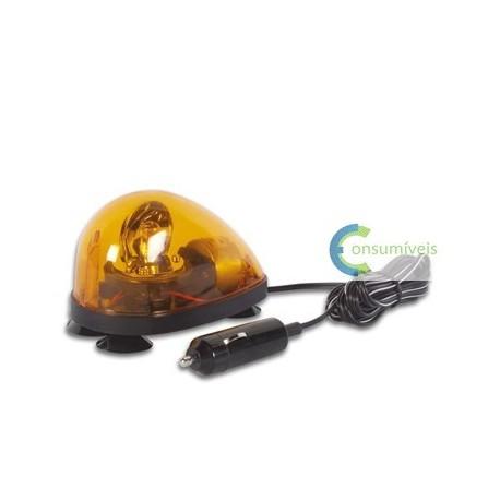 Luz rotativa de sinalização de emergência para auto - Amber