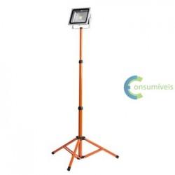 Projector led Epistar 50W - 6500K com tripé