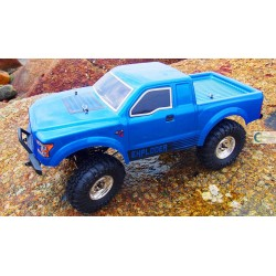 PICKUP AMXROCK RAPTOR 4WD, 1:10, RTR, AZUL