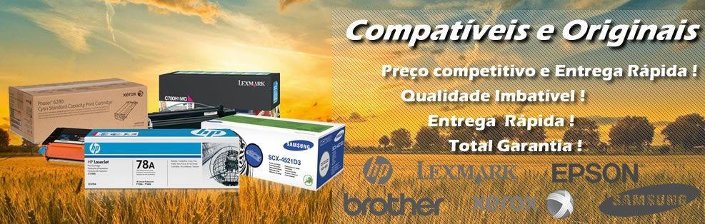 Consumíveis Compatíveis e Originais